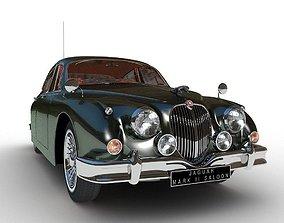 Jaguar Mark II Saloon MK2 1957 3D