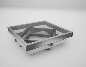 Modern table 3D model game-ready