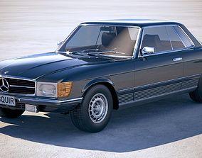 3D model Mercedes SLC c107 1981