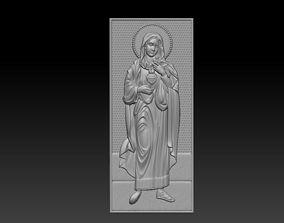 3D print model Virgin Mary