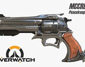 3D print model Overwatch Mccree s Peacekeeper