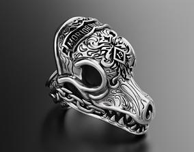3D print model MORIOR INVICTUS Ring Many sizes