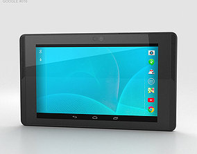 Google Project Tango Tablet White 3D