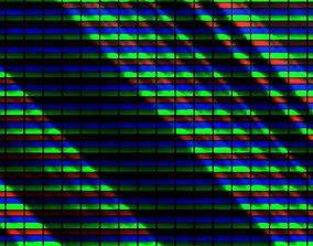 monitor 3D LCD shader