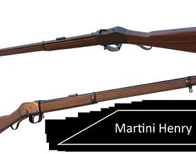 3D model Martini Henry rifle