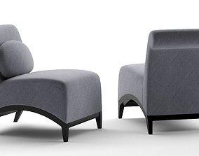 LOUNGE CHAIR furniture chair 3D
