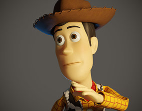 3D model WUDY-008 Rigged Woody