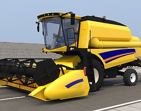 NEW HOLLAND TC490 3D