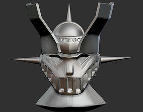 Mazinger Z Head 3D print model