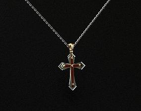 3D print model Cross
