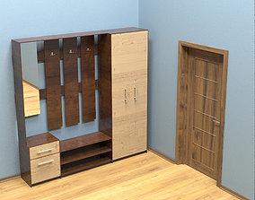 3D model Hallway furniture