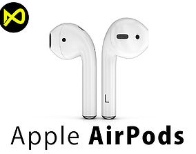 Apple AirPods Wireless 3D model