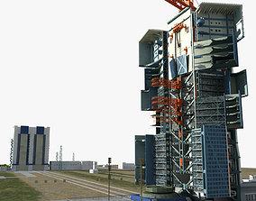 3D Jiuquan Satellite Launch Center