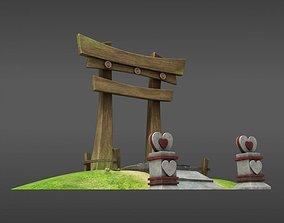 Japanese Gate 3D