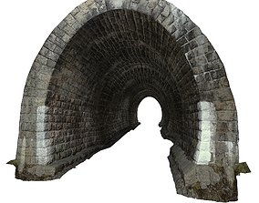 Gatehouse 01 Tunnel 03 3D model