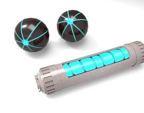 3D asset Grenade Sci-Fi