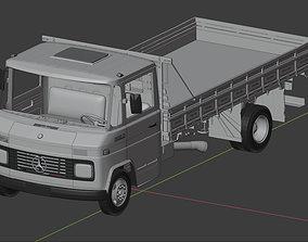 3D model Mercedes 608 710 TRUCK