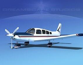 Piper Cherokee Six 300 V03 3D model