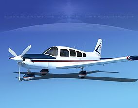 Piper Cherokee Six 300 V03 3D model