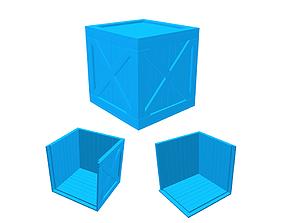 Wood Box 3D printable model