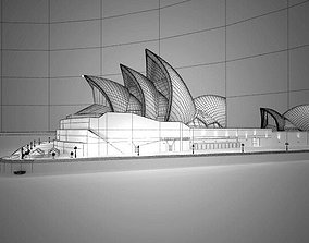 Sydney City Center 3D