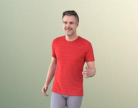 Will 10860 - Best Ager Man Running 3D asset
