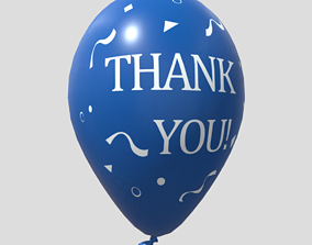3D model Balloon 5