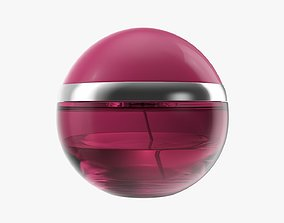 Perfume bottle mockup 01 3D model