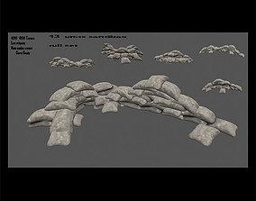 sanbag set 3D model