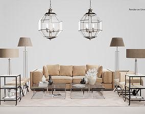 3D model Eichholtz Collection Modern Furniture