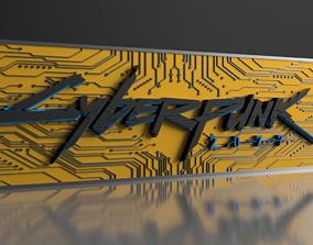 3D printable model CYBERPUNK 2077 BOITE DE DECO A LED