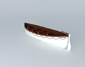 TITANIC LifeBoat No. 7 1912 3D model