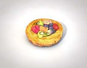 3D asset Fruit Pie