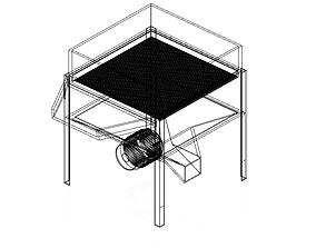 Segragating Machine 3D asset rigged