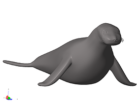 3D print model mammal Seal 70423