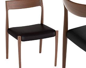 3D Moller Model 77 Side Chair