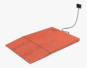 Industrial Weighing Platform 3D model