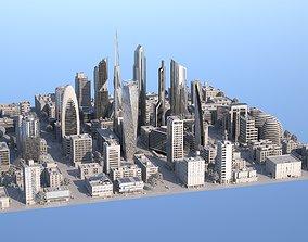 3D Silver City