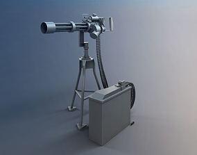 3D Cgi Military Turret