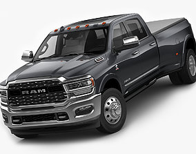 3D model Ram 3500 HD Limited Dually 2019