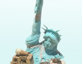 3D printable model Forgotten Liberty