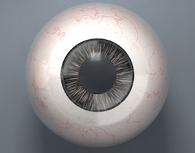 3D model Black Eyeball