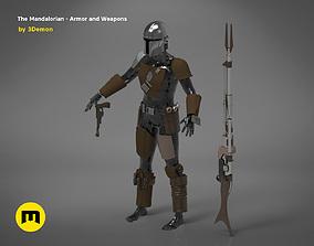 3D print model The Mandalorian - full armor and weapons