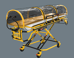 3D asset Corona Emergency Stretcher