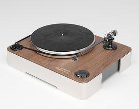 3D Vinyl record player ELAC Miracord 90 design