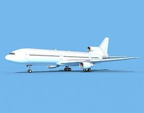 Lockheed L1011 Unmarked 3 3D