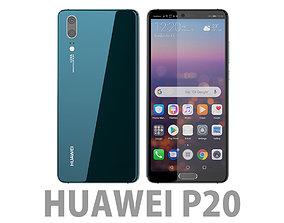 porsche 3D Huawei P20 Midnight Blue