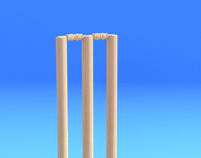 CRICKET STUMPS 3D