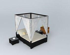 3D Outdoor Canopy bed Maisons du Monde