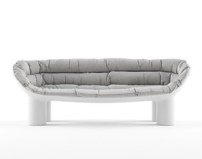 Driade Roly Poly Sofa 3D model